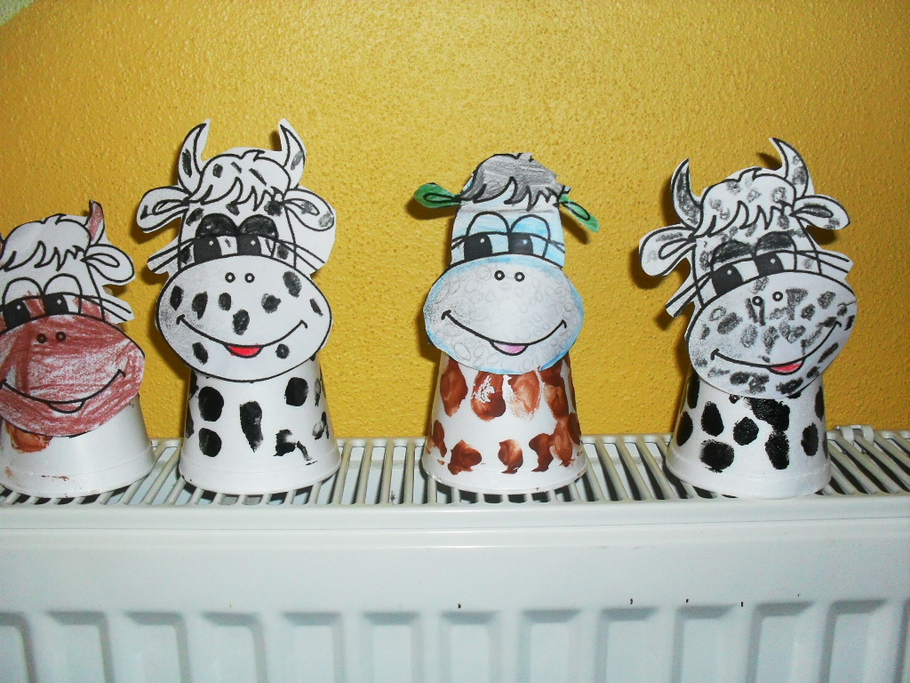 cow craft preschool