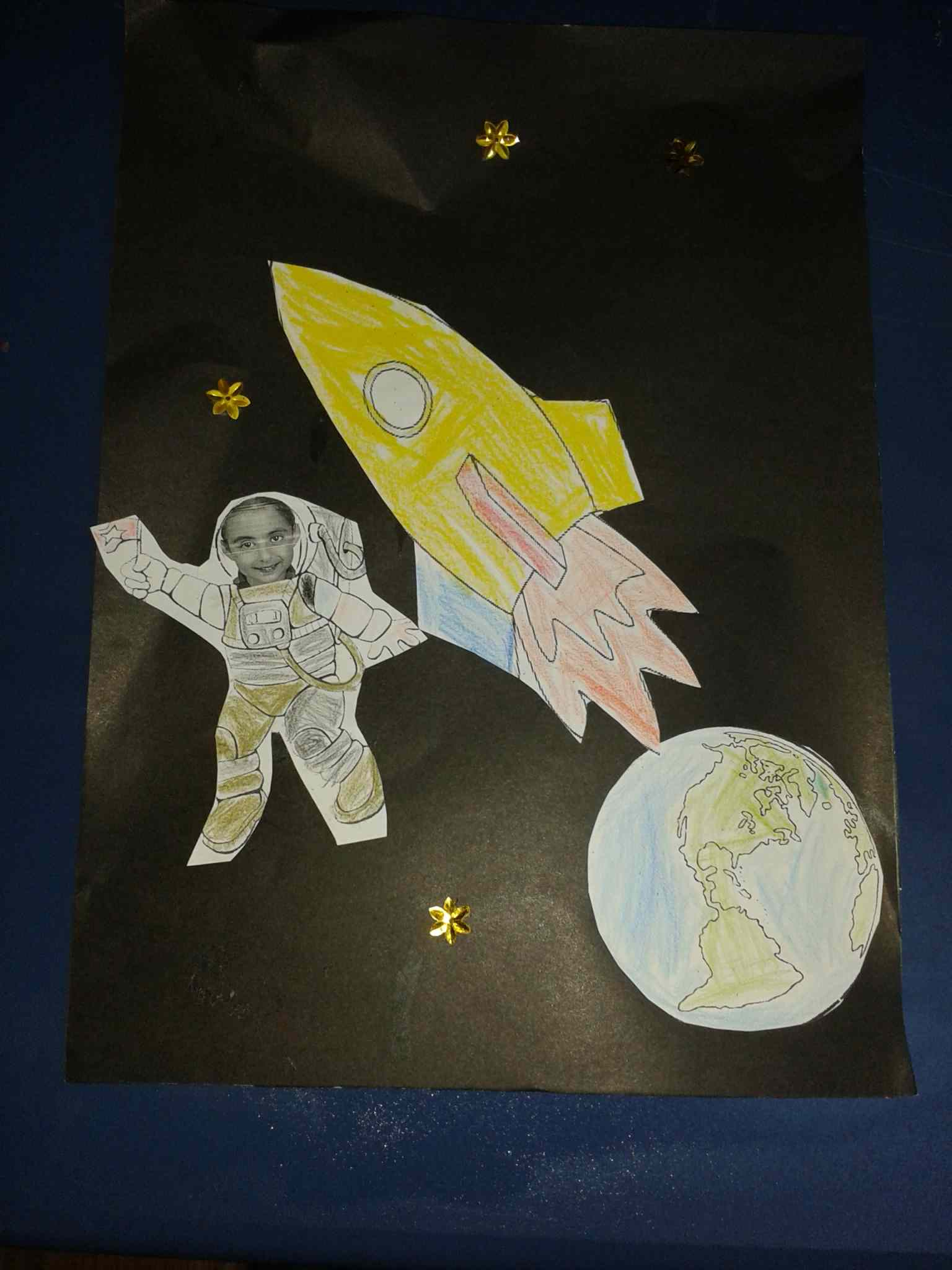 Space Moon Sun Star And Astronaut Craft Ideas For Kids