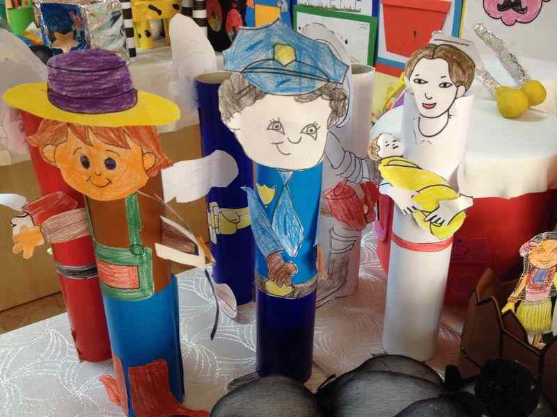 Toilet Paper Roll Jobs Craft Crafts And Worksheets For Preschool Toddler And Kindergarten