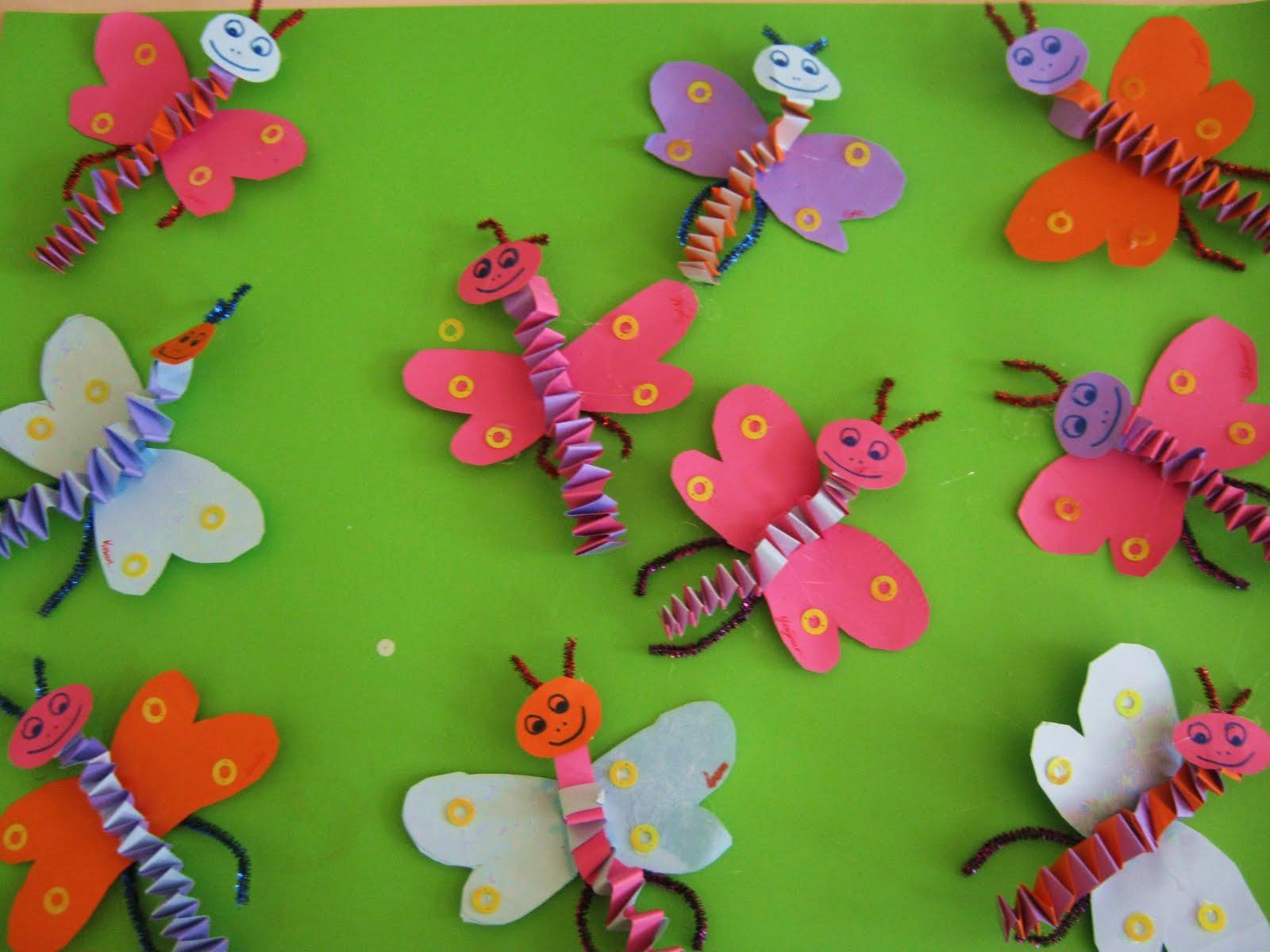 Butterfly Craft For Kindergarten