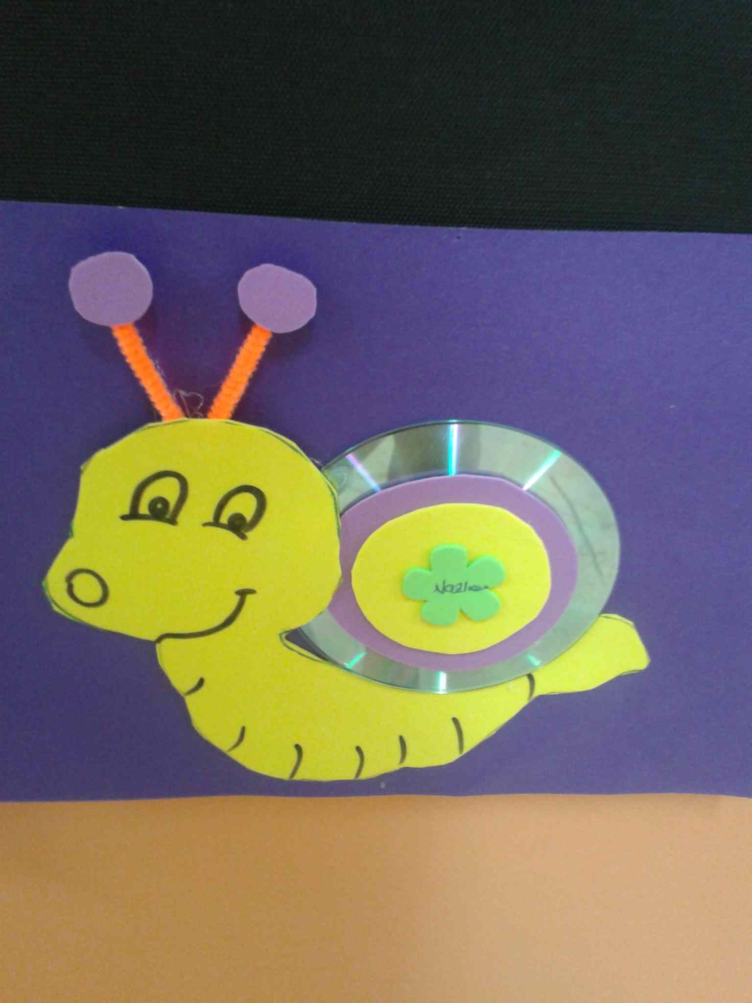 Snail Craft For Kids