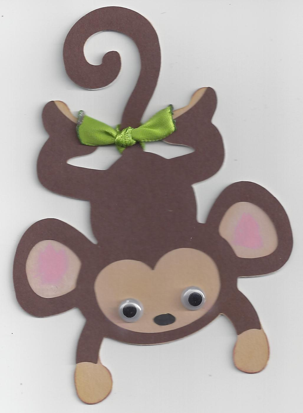 Monkey Craft Idea For Kids