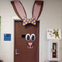 Easter bulletin board for kids
