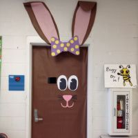 idea for animal theme door decoration | just b.CAUSE