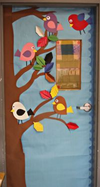 Door Decoration Boss Day | Joy Studio Design Gallery ...