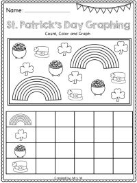 Saint Patrick 39 S Day Worksheets For Kindergarten. Saint ...