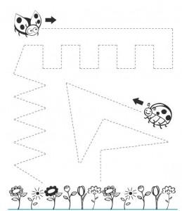 Lady Bug Number Preschool Worksheets. Lady. Best Free