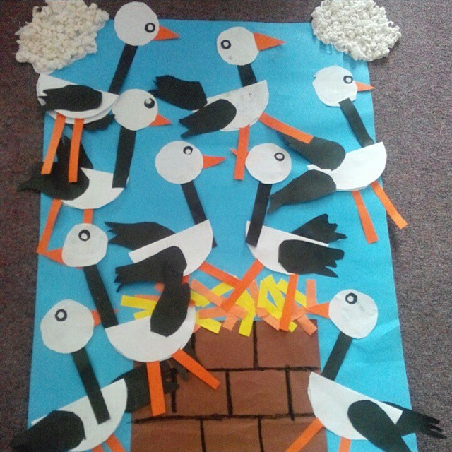 fall craft idea for