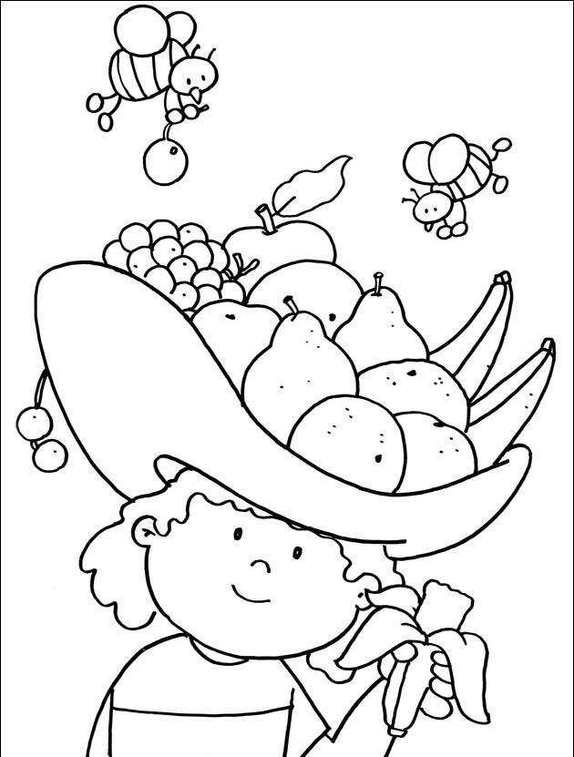 Crafts,Actvities and Worksheets for Preschool,Toddler and ... | fruits coloring pages for kindergarten