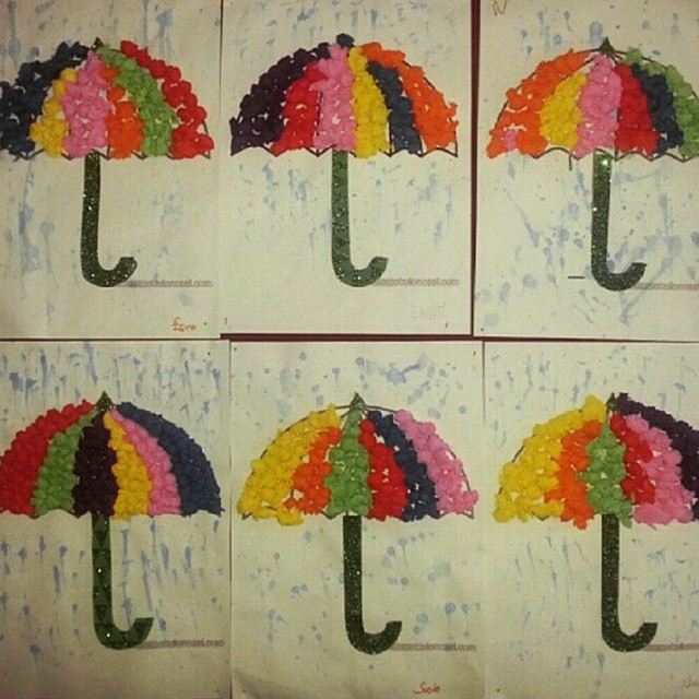 umbrella craft idea for