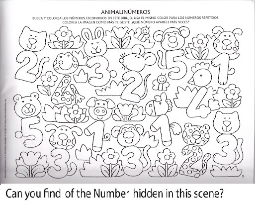 Hunting For Number 2 Worksheets Preschoolers. Hunting