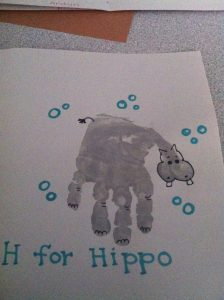 Hippo Craft Idea For Kids Crafts And Worksheets For