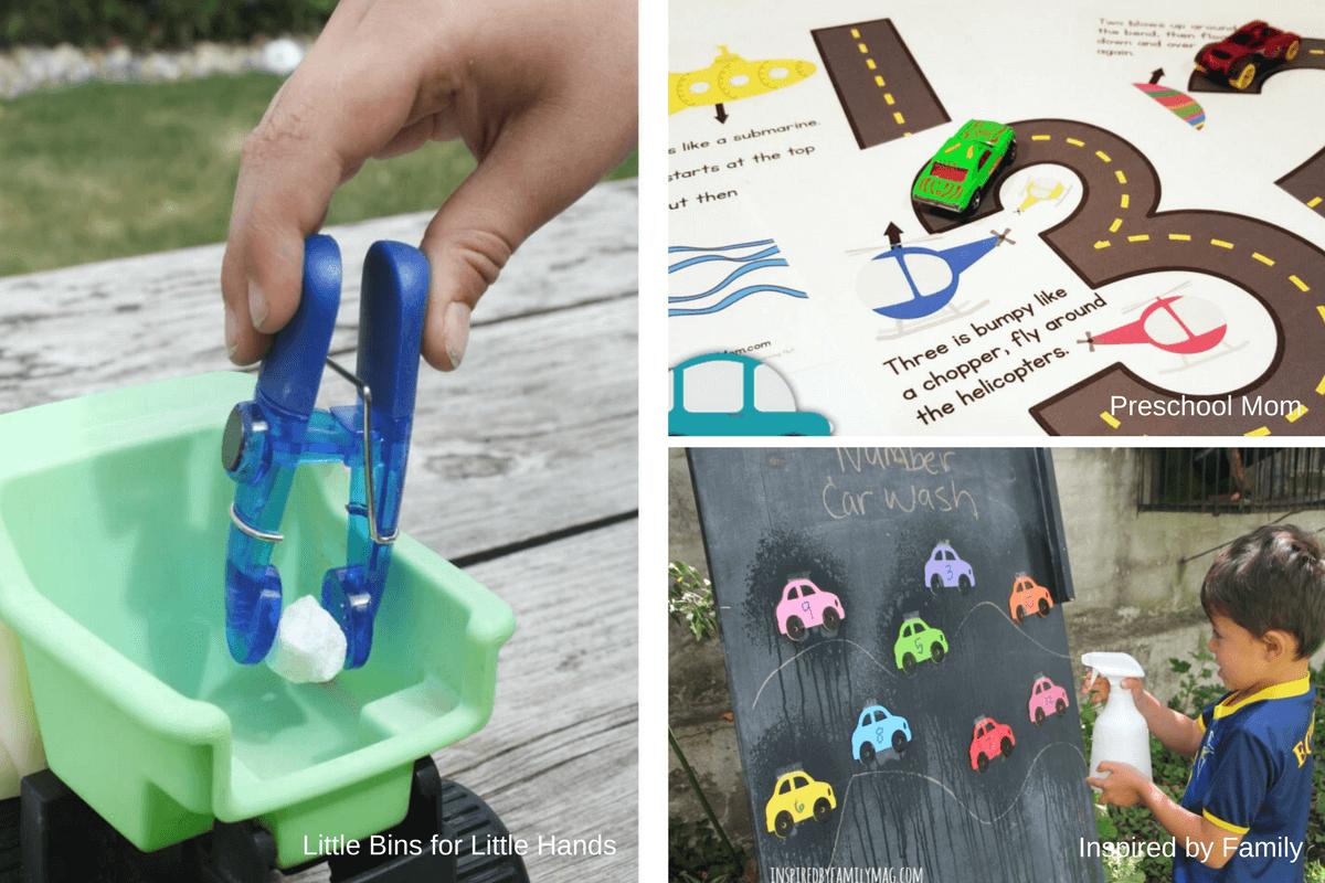 Ideas For A Preschool Transportation Unit