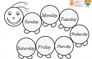 """Search Results for """"Days Of The Week Kindergarten"""