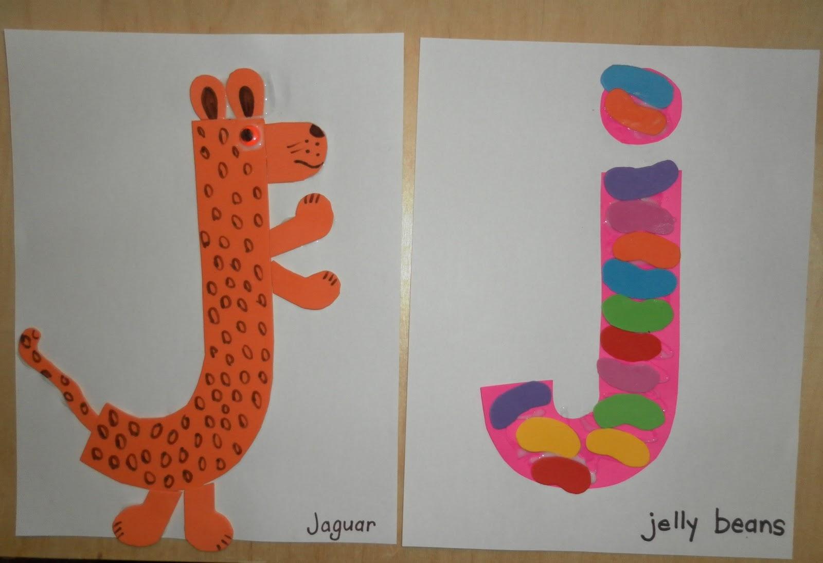 Letter J Crafts