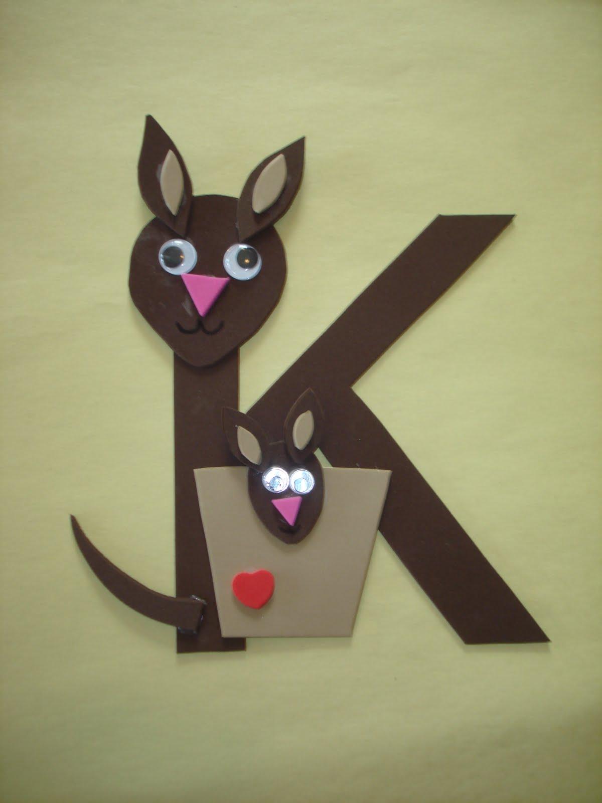 Letter K Crafts