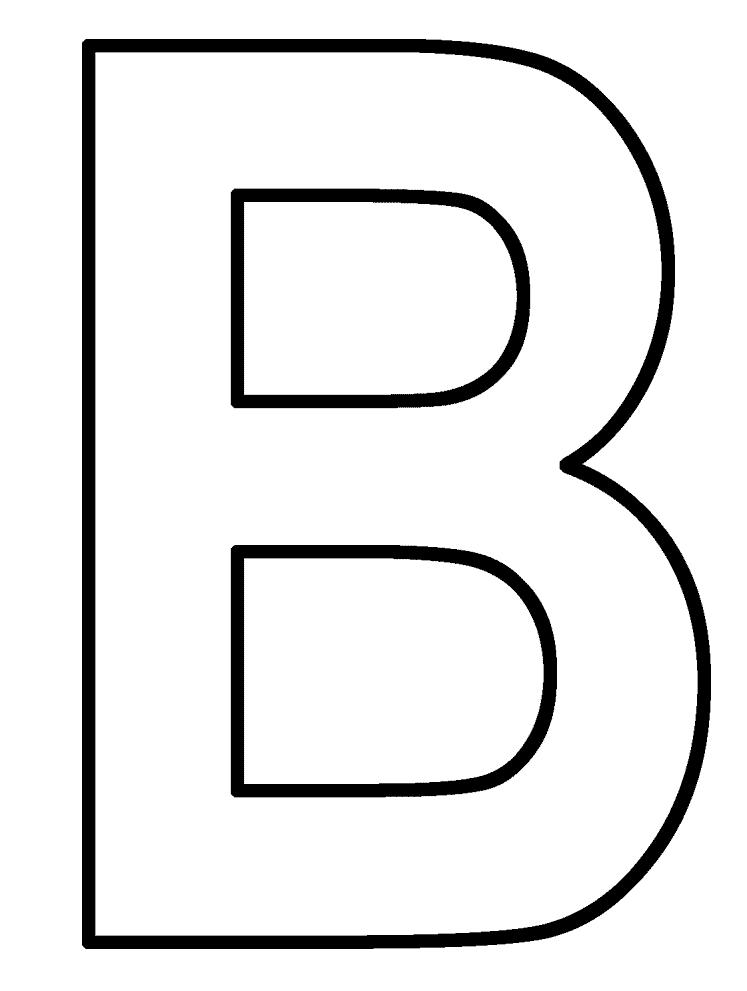 Free Letter B Do