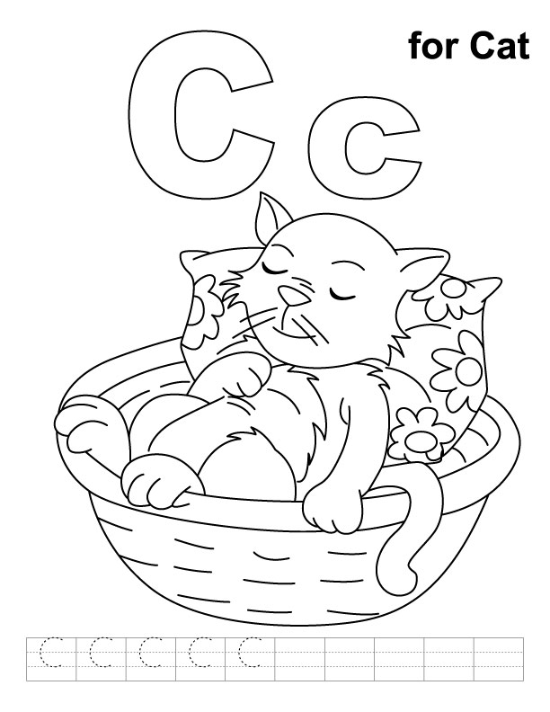 free letter c-printable-coloring-pages-for-preschool