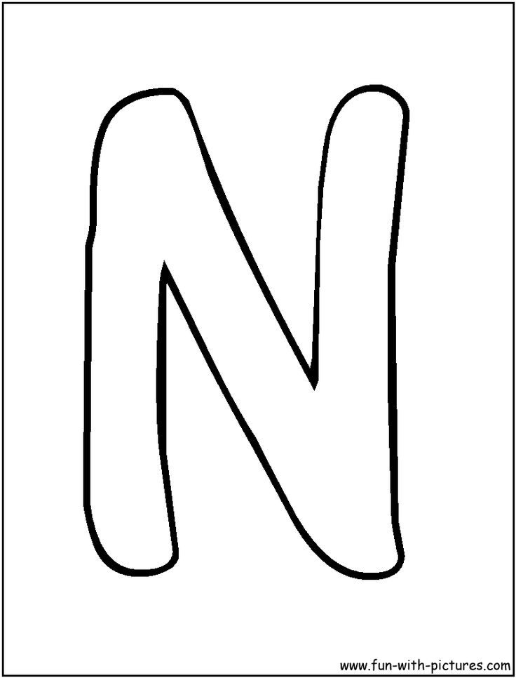 lettern coloring pages for preschool  preschool crafts