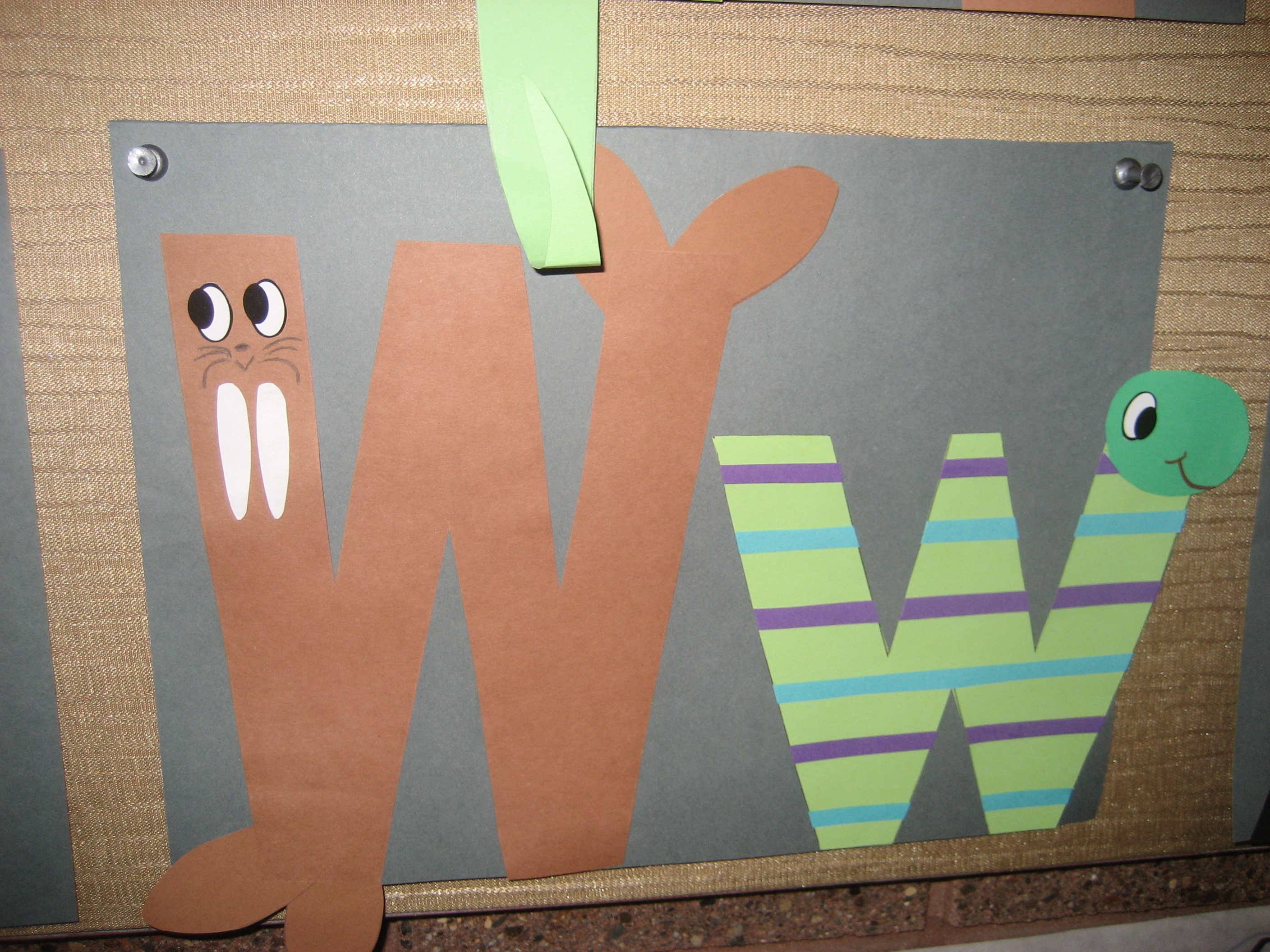 Letter W Crafts Eschoolcrafts
