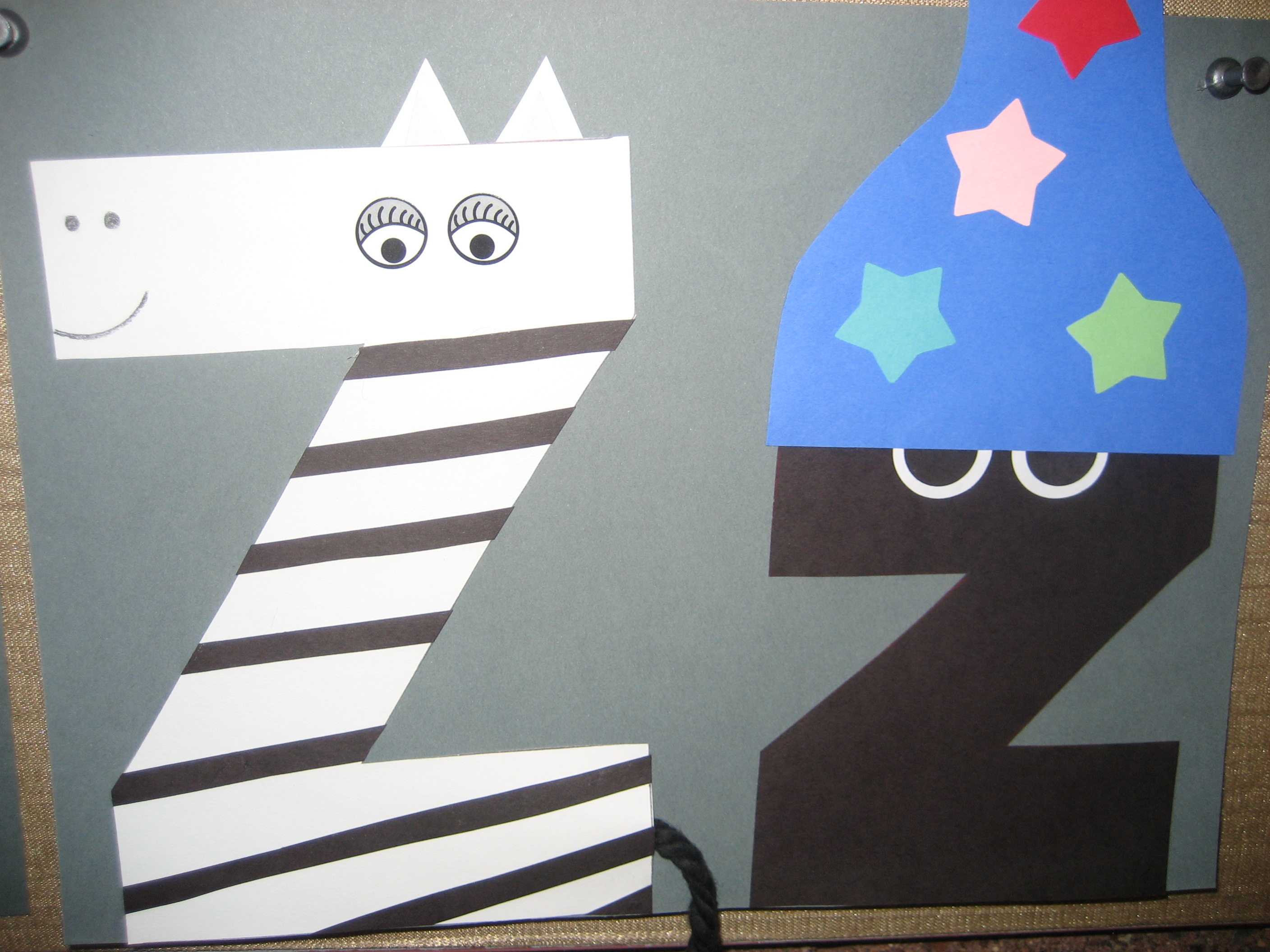 Letter Z Craft Zebra For Kids