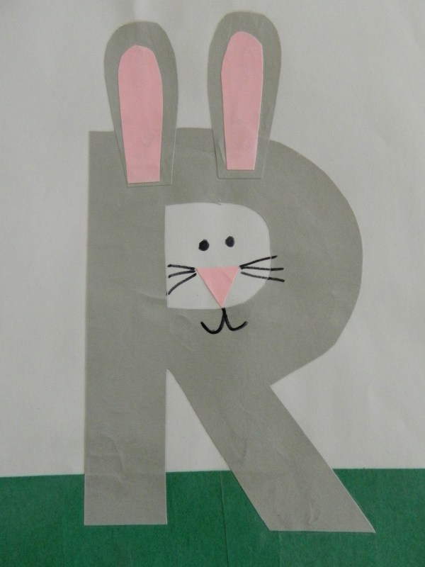 Letter Crafts Preschool Coloring Pages Worksheets
