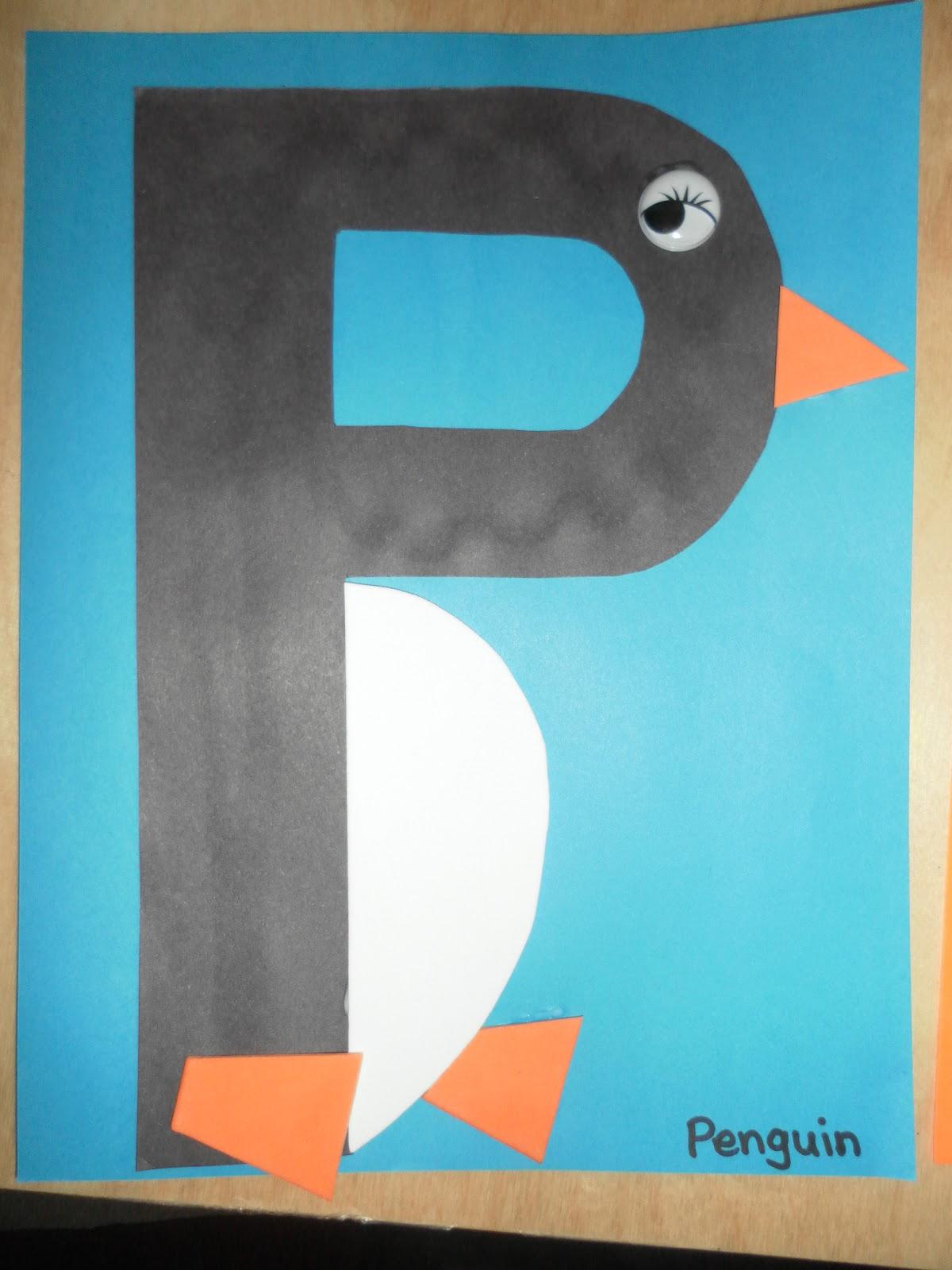 Letter P Crafts Deas For Preschool