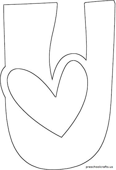 preschool alphabet letter u coloring pages worksheets