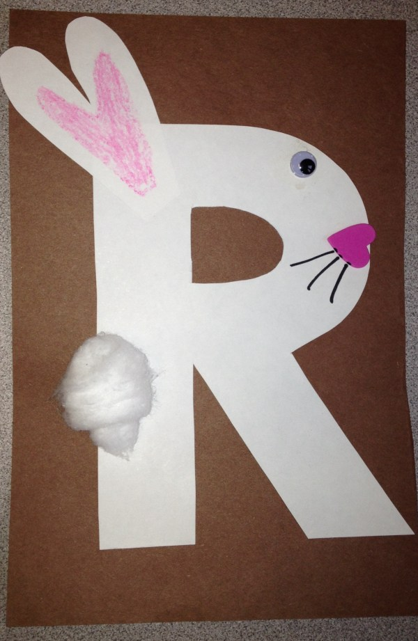 Letter R Preschool Craft