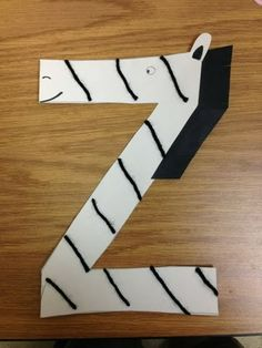 Letter Z Crafts For Kids Preschool And Kindergarten