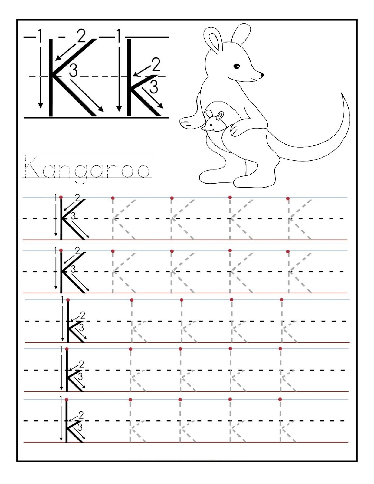 K Oa 4 Worksheet