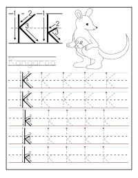 Letter K Worksheets for Preschool - Preschool and Kindergarten