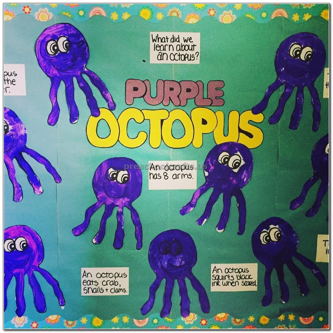 Octopus Crafts For Kindergarten