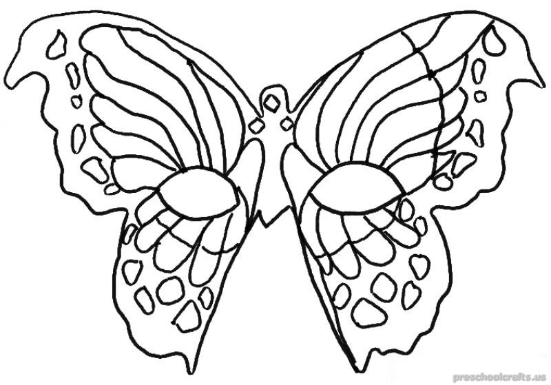 Free–printable-animals-butterfly-coloring-pages-for-first