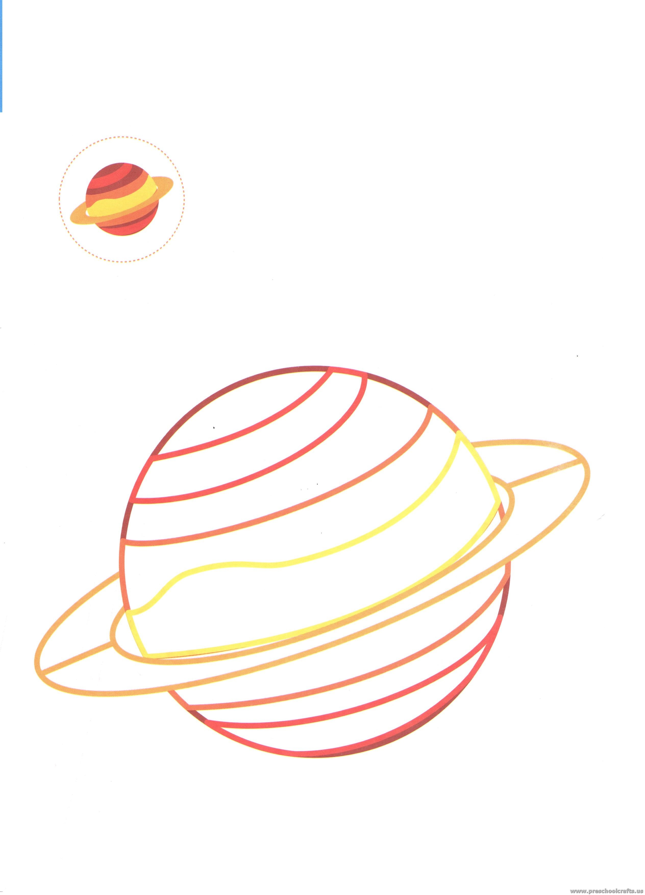 Outer Space Coloring Pages Jupiter Coloring Pages