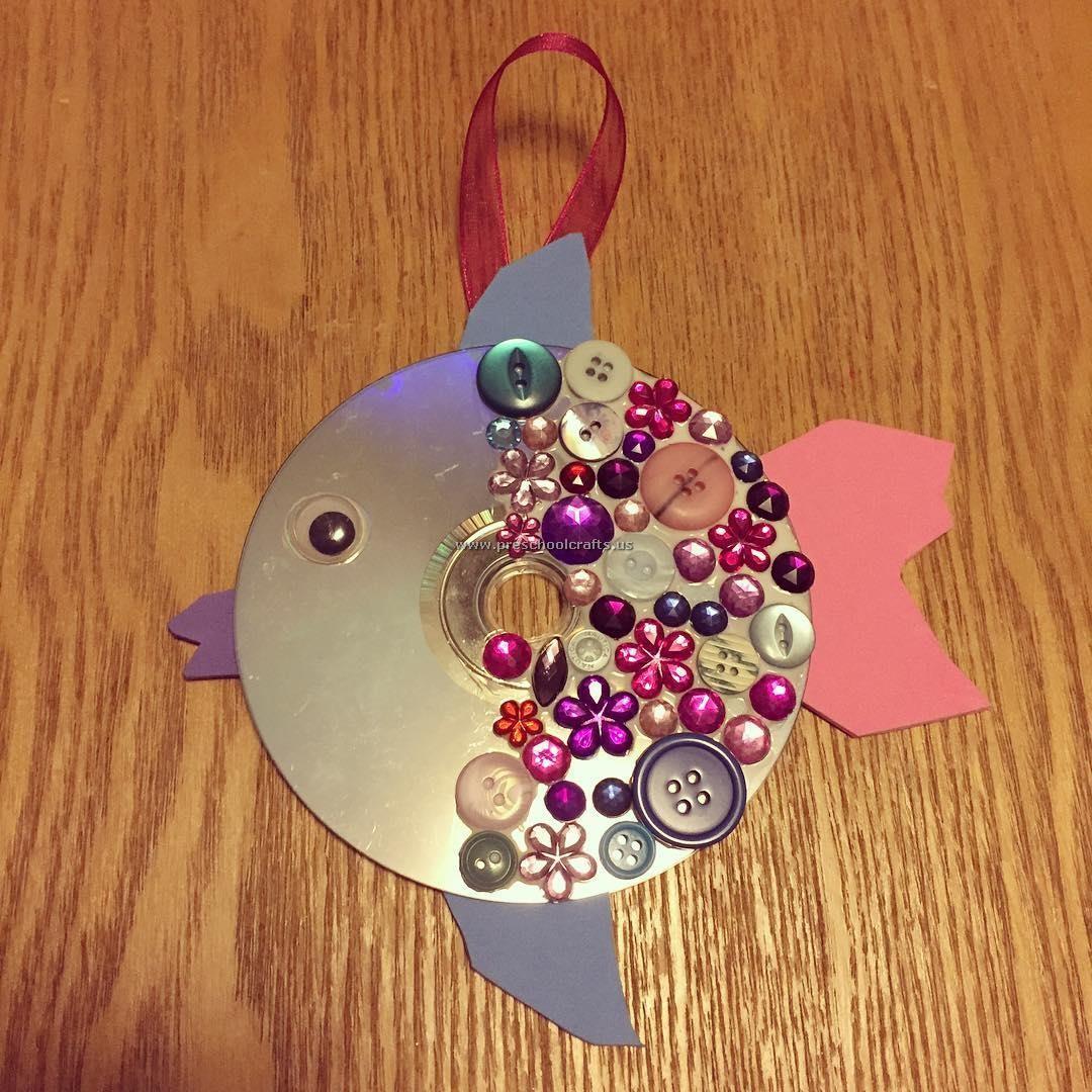 Fish Crafts Ideas Cd Crafts