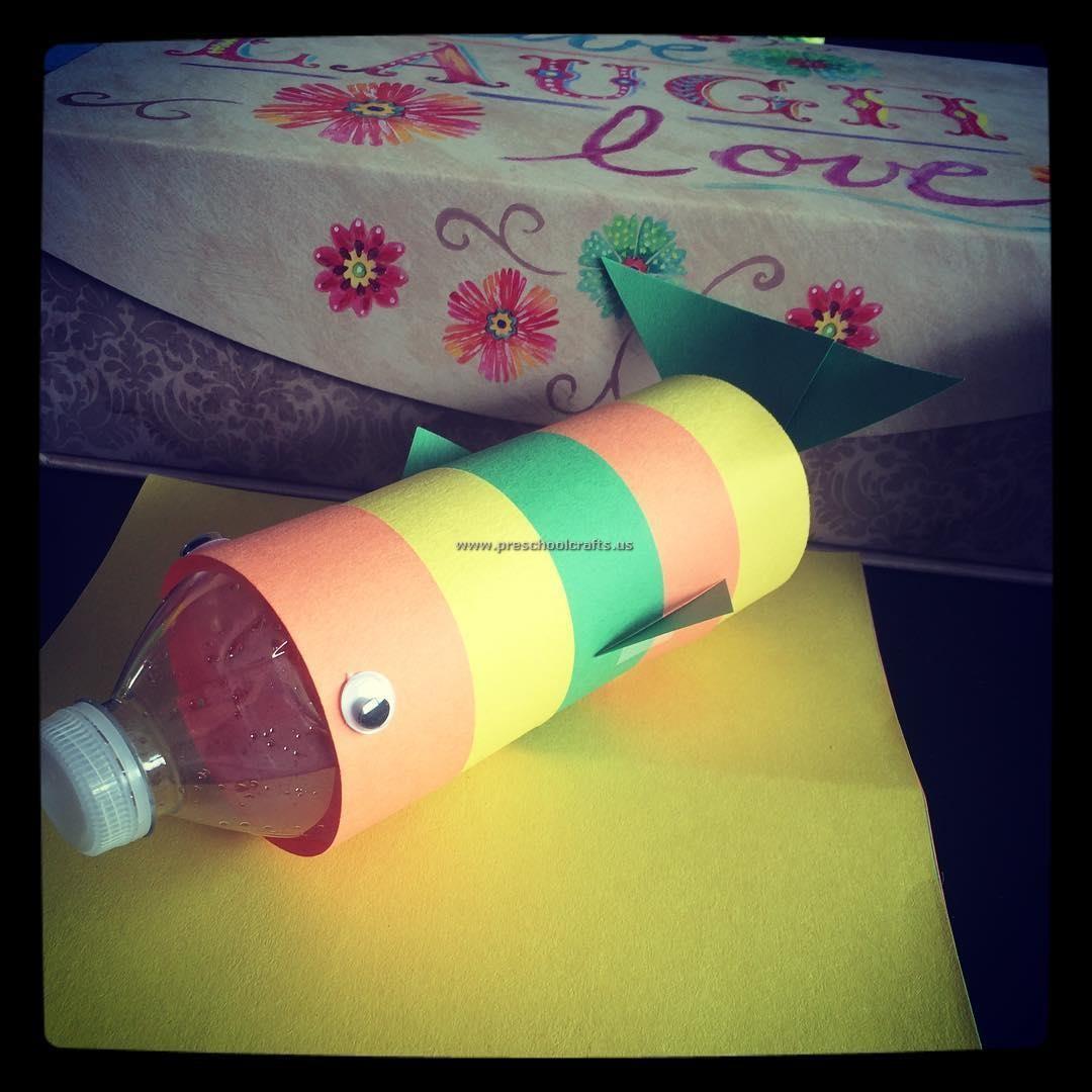 Fish Crafts Ideas For Preschool And Kindergarten