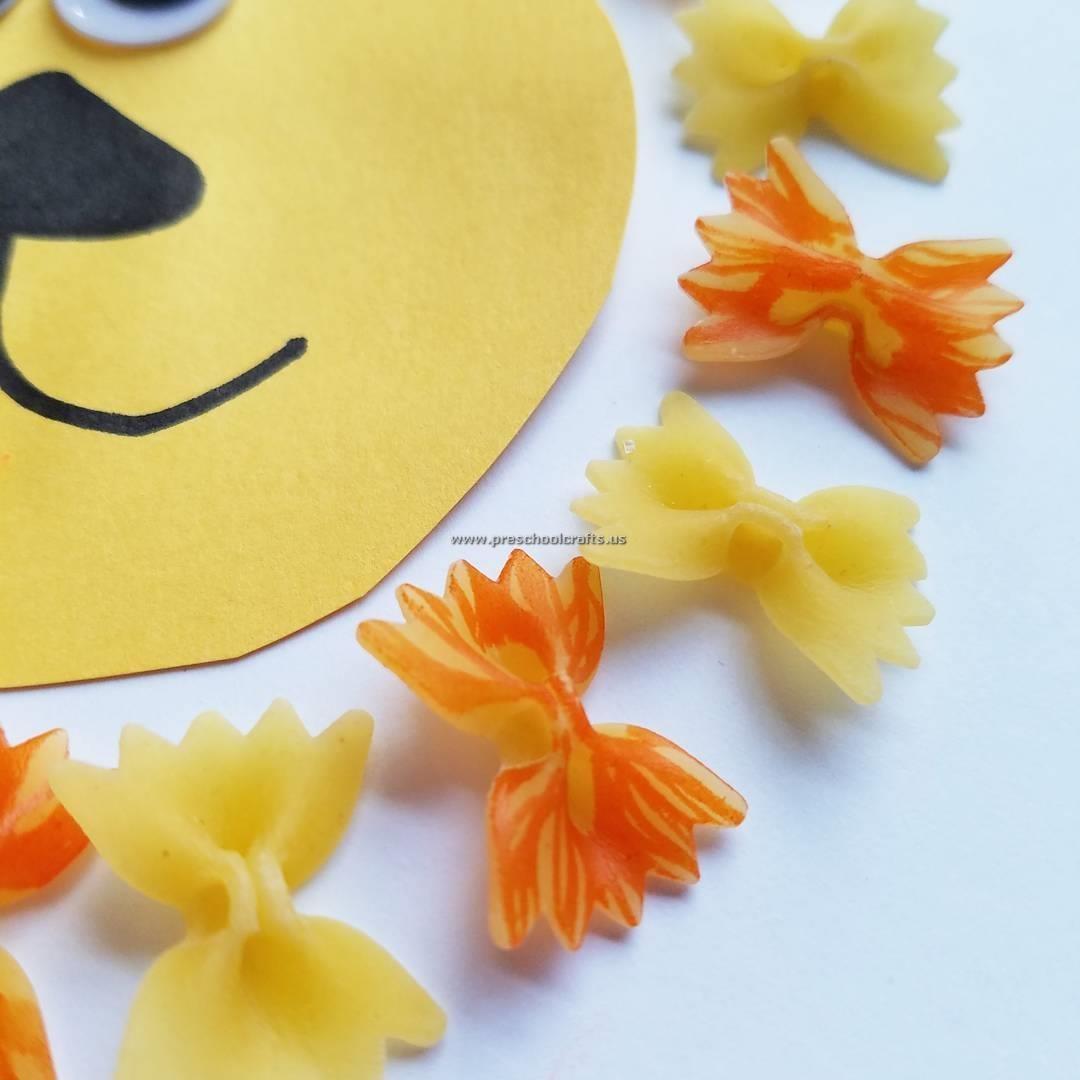 Lion Crafts For Preschooler