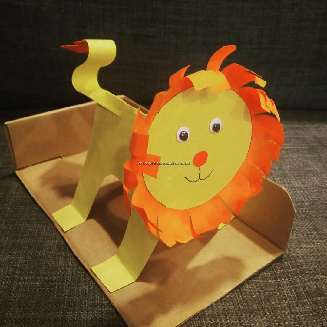 Lion Crafts Ideas For Preschool
