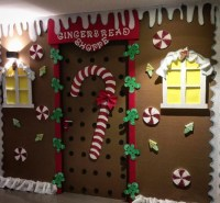 Preschool Christmas Door Decorations