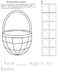 Preschool Easter Worksheets For Sentences. Preschool. Best
