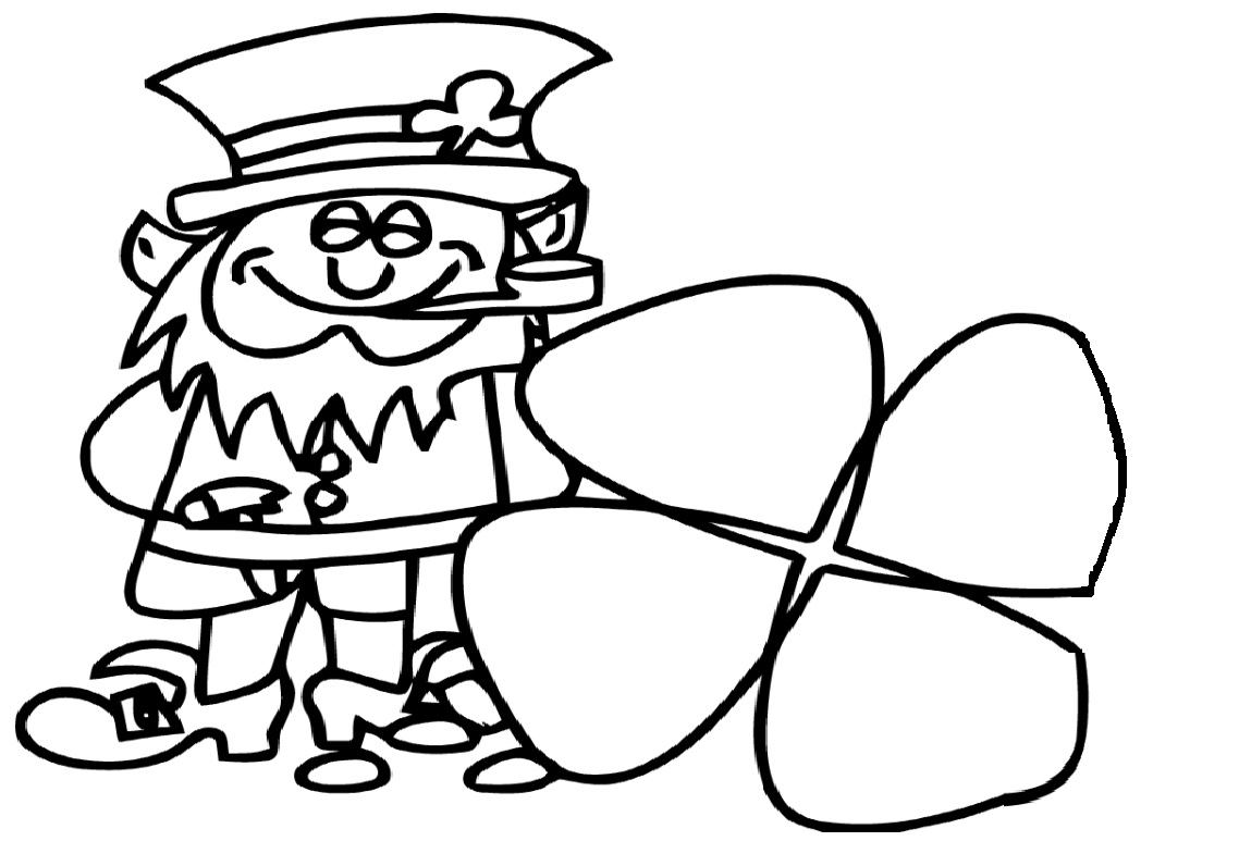 St Patrick S Day Coloring Pages For Kids