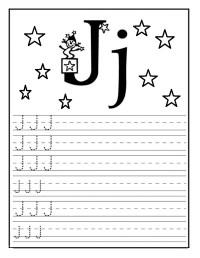 Tracing Letter J Worksheets Archives Preschool Crafts ...