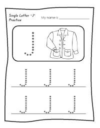Letter J Worksheets For Preschool. Letter. Best Free ...