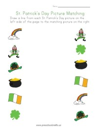 st patrick day worksheets for kindergarten - Preschool Crafts