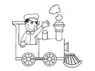train coloring pages for preschool and kindergarten free