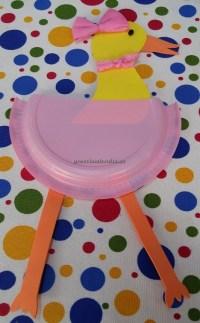 Duck craft ideas for preschool - Paper plate duck craft ...