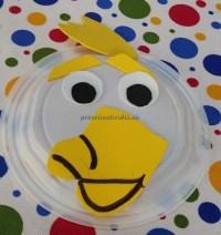 Duck craft ideas kindergarten - paper plate craft for ...