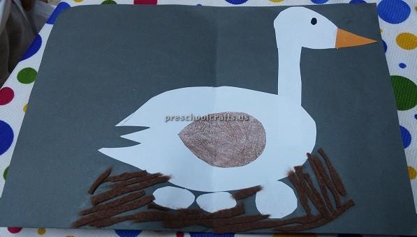 Easy Duck Craft For Preschool Preschool Crafts