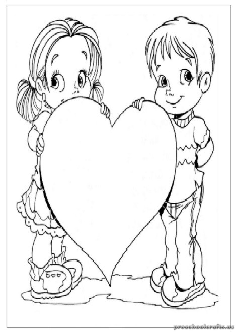 Mother's Day Printable Coloring Pages for Preschool